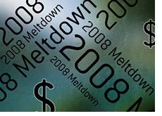 -- 2008 Financial Meltdown Graphic --