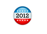 Elections Button 2012 - Illustration