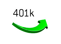 401k Rising - Illustration