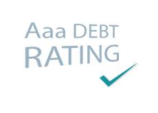 -- Aaa Debt Rating - Check --