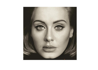 Adele 25 - Album cover photograph - Year 2015