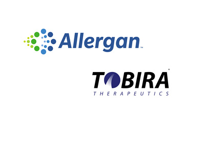 Allergan and Tobira - Company logos - Year 2016