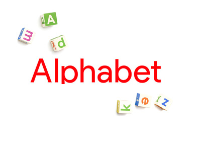Alphabet company logo - Red colour