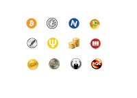Alt-Coins - Alternative Currencies - Logos