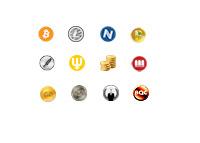 Alt-Coins - Alternative Currencies - Logos