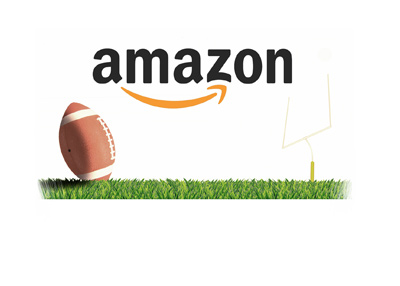The Amazon football streaming - Concept drawing / design.