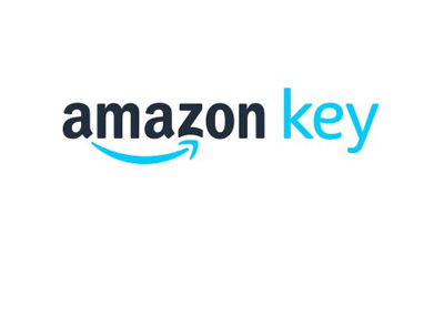 Amazon Key logo - Year is 2017 - Prime members only.