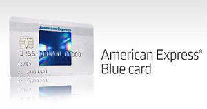 ad for american express blue card