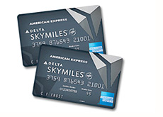 image of the american express delta airlines - skymiles - credit card