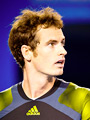 One of the top tennis players in the world - Andy Murray - January 27th, 2013 - Melbourne, Australia