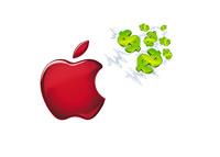 Apple is a cash magnet - Illustration