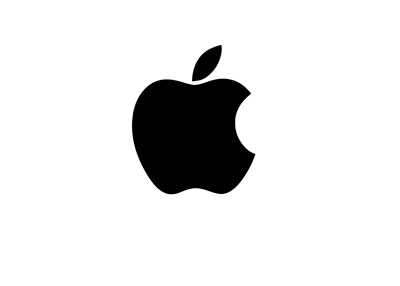 Apple logo - Black colour - 2016 version
