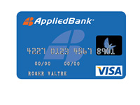 AppliedBank Secure Visa Card