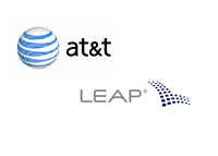AT&T and Leap Wireless International - Corporate logos