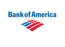 corporate logo - bank of america