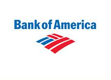 corporate logo - bank of america