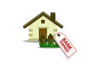 Bank owned home - Illustration
