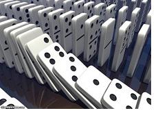 -- falling dominos --