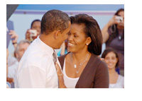 Barack and Michelle Obama - Photo