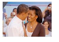 Barack and Michelle Obama - Photo