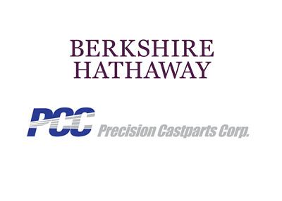 Berkshire Hathaway and PCC (Precision Castparts Corp - Company logos