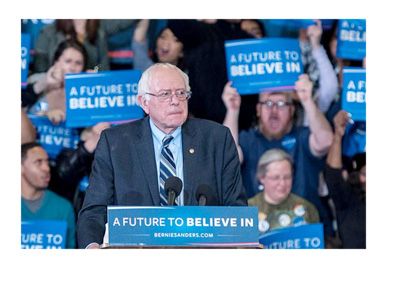 Bernie Sanders Twitter profile photo - February 2016