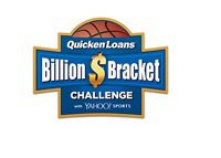 The BIllion Dollar Bracket Challenge 2014 - Logo - The Quicken Loans / Yahoo!