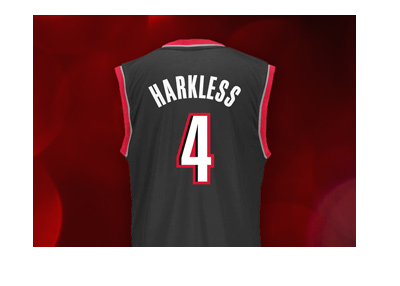 The Portland Trailblazers star - Maurice Harkless - Jersey - Number 4.