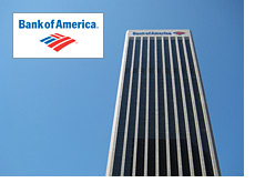 -- Bank of America Building - Los Angeles - California - Company Logo --