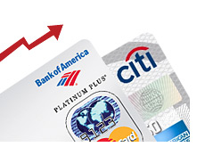 -- bank of america platinum credit card - mastercard --