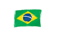 Brazil Flag - Illustration