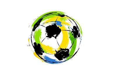 Brazil World Cup Ball - Illustration - Concept