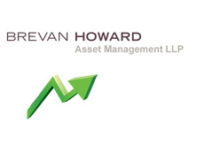 brevan howard asset management llp - logo - with arrow going up