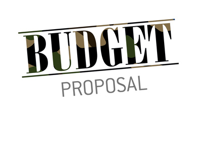 The Budget proposal.  Heavily weighted towards military spending.