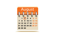 August 2nd deadline - Calendar - Illustration