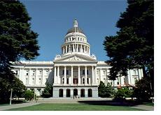 -- Sacramento, California - State Capitol Building --