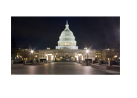 Capitol Hill at Night - Photo