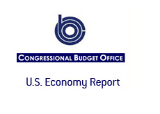 -- Congressional Budget Office - CBO - Report on the U.S. economy --