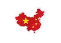 Map of China - Illustration