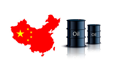 China Oil Consumption - Illustration / Concept