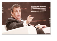 Chris Christie - The McCain Institute in Phoenix, Arizona - 2013