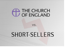 the church of england attacks short-sellers
