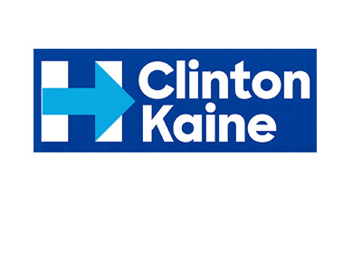 Clinton / Kaine - 2016 presidential election - Logo