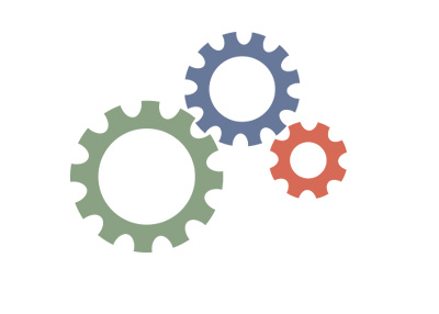 Gears / Cogs - Illustration - Employment numbers - Concept