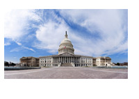 Congress - Capitol - Washington DC - Wide Angle Photo