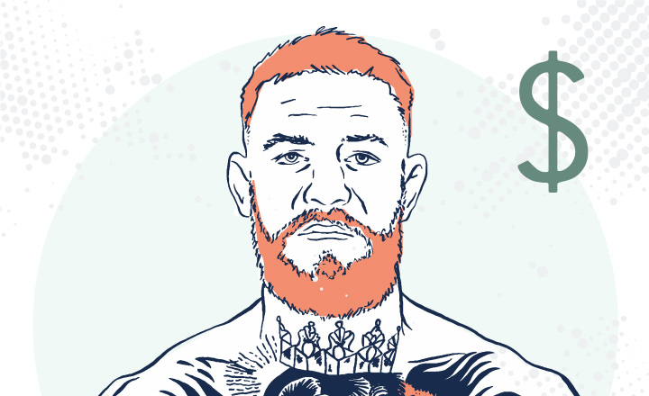 Conor Mcgregor - Drawing / illustration - Very serious expression.