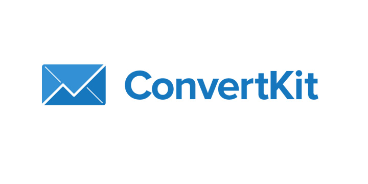 Convertkit company logo - Blue colour - Year 2016