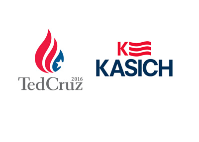 Ted Cruz - John Kasich - Two logos combined - Alliance