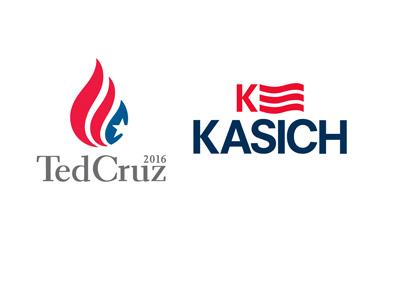 Ted Cruz - John Kasich - Two logos combined - Alliance