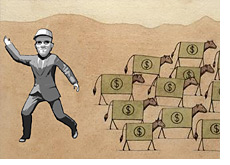 dave goes in the other direction of sheep investors